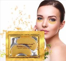 10 pairs Crystal Gold Collagen under Eye Pads Mask Anti Dark Circle Wrinkles