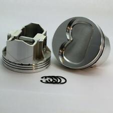 """DSS Piston Set 2-6103-4120B; 4.120"""" Bore -14cc Dish for 1967-1976 Pontiac 400 V8"""