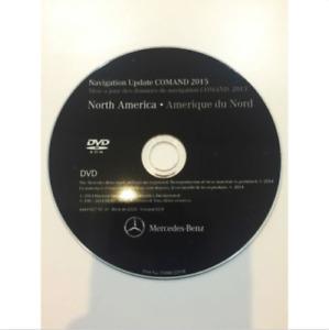 Mercedes-Benz M-Class 2006 2007 2008 North America v12 Navigation DVD Maps NTG2
