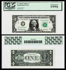 ***STAR NOTE***  Fr.1930-E* 2003-A* DALLAS $1 Federal Reserve Note ~~ PMG 67PPQ