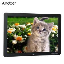 """Andoer 15"""" Wide Screen HD LED Digital Picture Frame Digital Album High G2K3"""