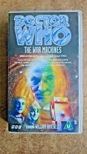 Doctor Who - The War Machines (VHS, 1997) - William Hartnell