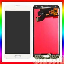 DISPLAY LCD VETRO TOUCH SCREEN RICAMBIO SAMSUNG GALAXY S5 G900F BIANCO SCHERMO
