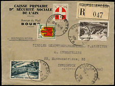 France 1951 registered cover #C38760