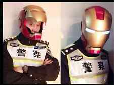 2015 NEW 1:1 Full Scale IRON MAN HELMET Replica Collectible Cosplay Prop  Manual