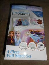 Disney FROZEN ll 4-Piece Full Sheet Set NEW