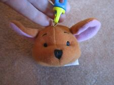Roo Winnie the Pool plush Clip-On Backpack Keychain Stuffed Animal FREE SHIP