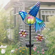 Solar Stake Hummingbird Outdoor Solar Lights Garden Yard Lawn Decor Patio Pathwa