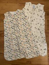 Set Of 2 - Halo Sleep Sacks Wearable Blanket Sz Large 12-18 Months - Baby boys