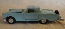 Die Cast Ford Thunderbird 1958 Toy Car Light Blue 1/64 Scale Toy