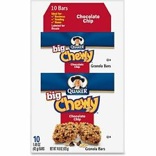 Quaker Oats Chocolate Chip Chewy Granola Bar 1.48oz. 10/BX Multi 31565