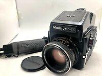 【EXC+5】Mamiya M645 + Meter Prism Finder + SEKOR C 80mm F2.8 + 120Back From Japan