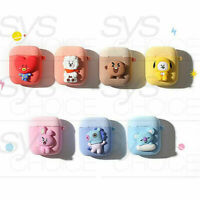 BTS BT21 Official Authentic Goods Two-tone Airpods Case + Tracking Num