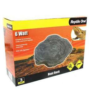 Heat Rock 6W 240V Thermostatically Controlled 14.5 x 12cm Reptile One