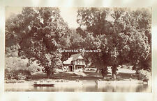 Cliveden Ferry, Buckinghamshire - Two c.1890 Albumen photographs