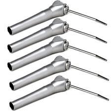 5pcs Dental Air Water Spray Triple 3 Way Syringe Handpiece + 2 Nozzles Tips Tube