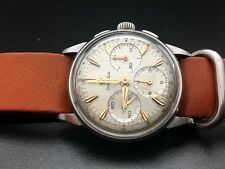 1966 Omega Chronograph 2277-1 Cal. 321 Stainless Steel Original Dial Tachymetre