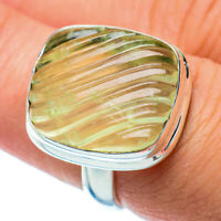 Prehnite 925 Sterling Silver Ring Size 7.5 Ana Co Jewelry R36331F