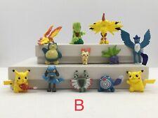Pokemon Pikachu Action Figures Set of 12 Brand New #B