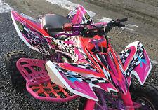 TRX 400 EX graphics decal kit fits 2008 -2016 Honda #2500 Hot Pink Free Custom