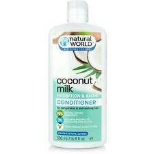 Natural World Coconut Water Hydration and Shine Hair Conditioner 500 ml