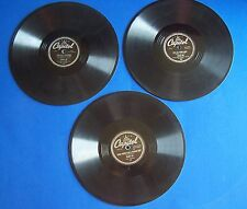 Lot Peggy Lee Singles 78 RPM Capitol Dave Barbour 1945 It's Over Now Chi-Baba
