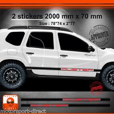 Sticker DACIA DUSTER tuning racing aufkleber adesivi pegatina decal 036