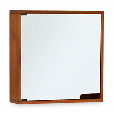 Wooden Frame Square Wall-mounted Decorative Mirrors