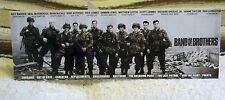 """""""Band of Brothers"""" World War 2 Tv Series Tabletop Standee 11"""" X 4"""""""