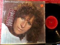 Barbra Streisand Memories (Greatest Hits) Vinyl LP Columbia 37678 Shrink + Hype