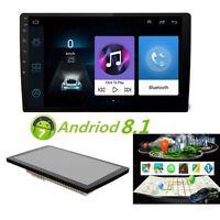 """9"""" Auto Android 8 1080P 2Din Touchpad Quad-Core Stereo Radio GPS Wifi Bluetooth"""