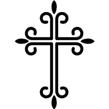 Cross Vinyl Decal Car Window Sticker You Pick The Size & Color