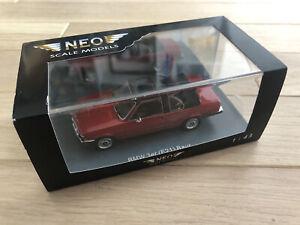 BMW 323i E21 Baur Burgundy Neo Scale Models 1/43