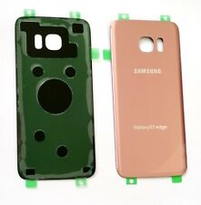 Original OEM Back cover Glass For Samsung Galaxy S7Edge G935 SPRINT/TMOBIE ROSE