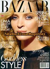 UK Harpers Bazaar 2/12,Uma Thurman,Carine Roitfeld,Goddess Style,February 2012