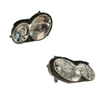 Mercedes Benz W209 CLK350 CLK320 Kit of Left And Right Headlights Assembly Hella