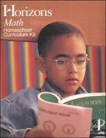 Alpha Omega Horizons Math Grade 2 Complete Set AOP