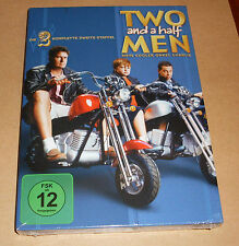 DVD Box Two and a Half Men - Staffel 2 blau - Mein cooler Onkel Charlie Neu OVP