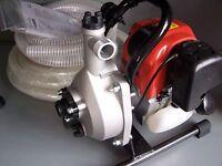 Dolmar Benzin Wasserpumpe Typ:  MP 245.4 Z mit Saugschlauch  4-Takt Motor