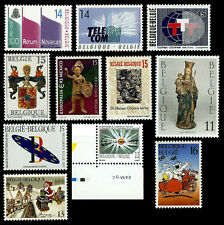 BELGIUM. Set of MNH stamps issued 1991 – 1994.