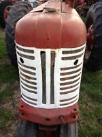 Farmall 350 tractor Origl Factory IH IHC front nose cone grill assembly w/screen