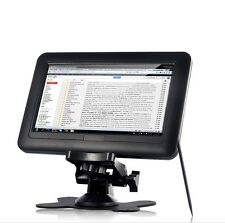 Portable 7 Inch TFT LCD Black USB Powered Touchscreen Monitor