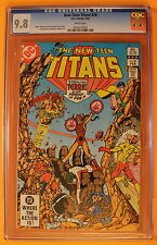New Teen Titans #28 vs Tara Markov TERRA Battle PEREZ 1983 Movie? CGC NM/MT 9.8
