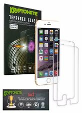 KRYPTONITE iPhone 6/6s plus Tempered Glass Screen Protector (2 Pack) Bubble Free