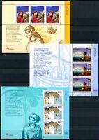 Portugal, Azoren, Madeira 3 CEPT Blöcke aus 1997 postfrisch MNH (W2366