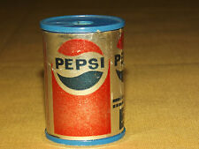 VINTAGE MINI PLASTIC PEPSI SODA CAN PENCIL SHARPENER
