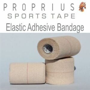 EAB Elastic Adhesive Bandage,6x75mmx4.5Sports,Rugby,Shoulder,Vet,Strapping Tape
