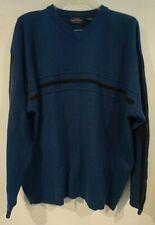 Sonoma Blue Striped Sweater Mens Sz XXL