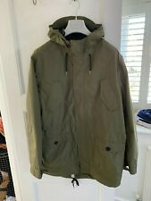 Regatta Mens Olive Green Parka Jacket Coat (XL)