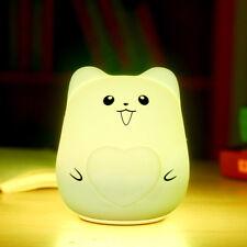 Lovely Cute Smile Face Night Light Children Bedroom Decor Mini Led Lamp Bulb A